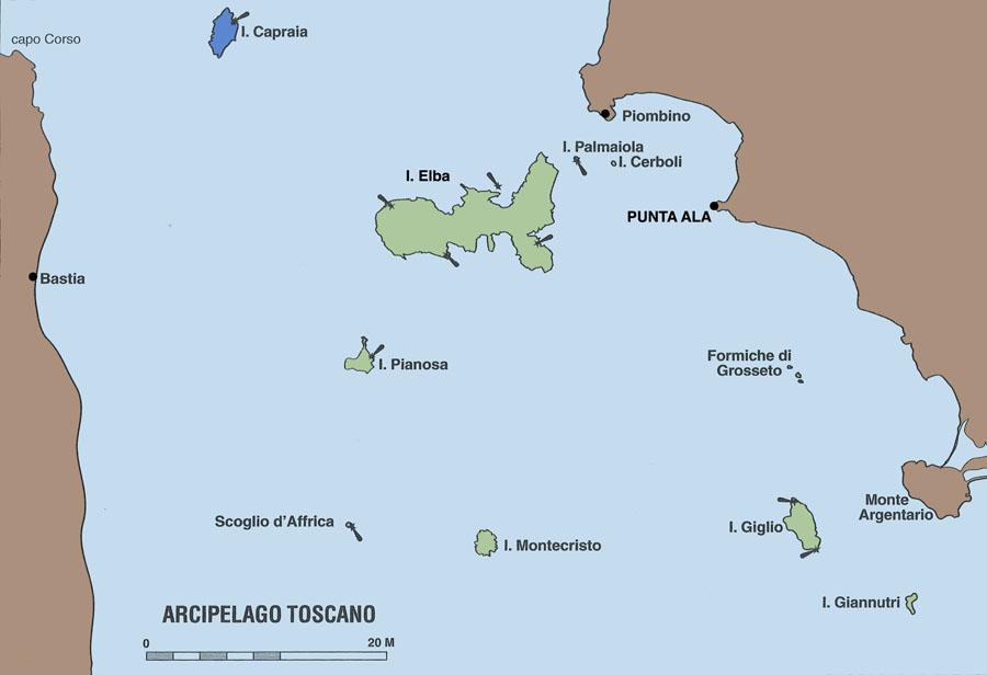 Veleggiare charter vacanza in barca a vela sullisola ddi Capraia